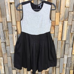 Gracia dress size small black fit and flare